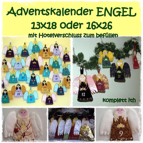 Adventskalender ith ENGEL 16x26