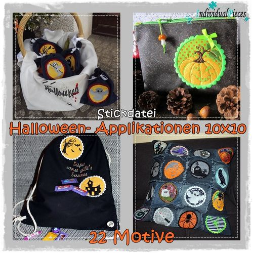 Applkation HALLOWEEN 10x10